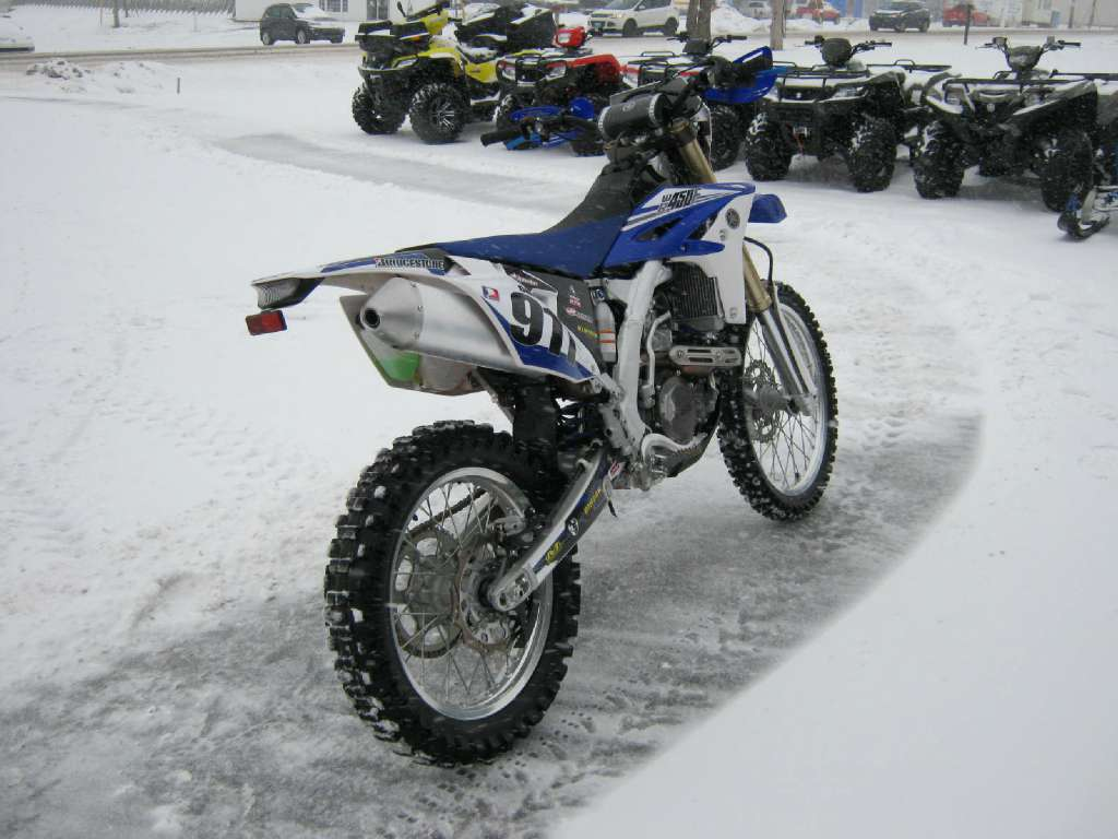2014 Yamaha WR450F in Pataskala, Ohio