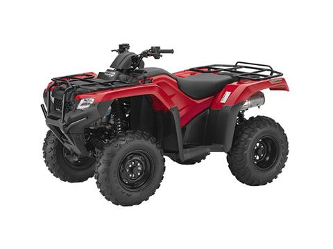 2016 Honda TRX420 DCT IRS EPS Red in Pataskala, Ohio