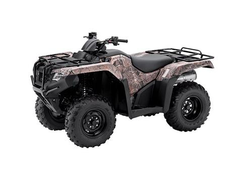 2016 Honda TRX420 DCT IRS EPS Camo in Pataskala, Ohio