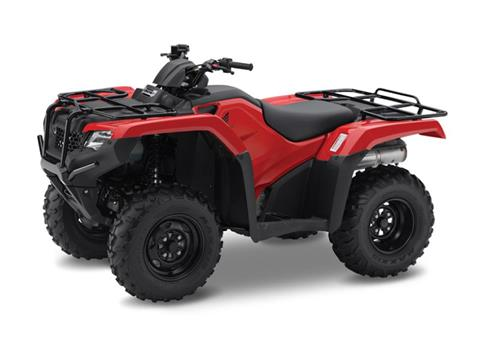 2017 Honda TRX420 Rancher Red in Pataskala, Ohio