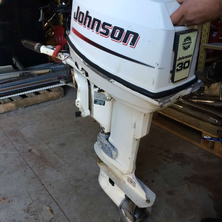 2002 Johnson 2002 Johnston 30 HP 2 Stroke in Pataskala, Ohio
