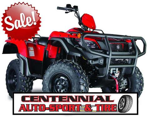 2016 Suzuki KingQuad 500AXi Power Steering Special Edition Red in Pataskala, Ohio