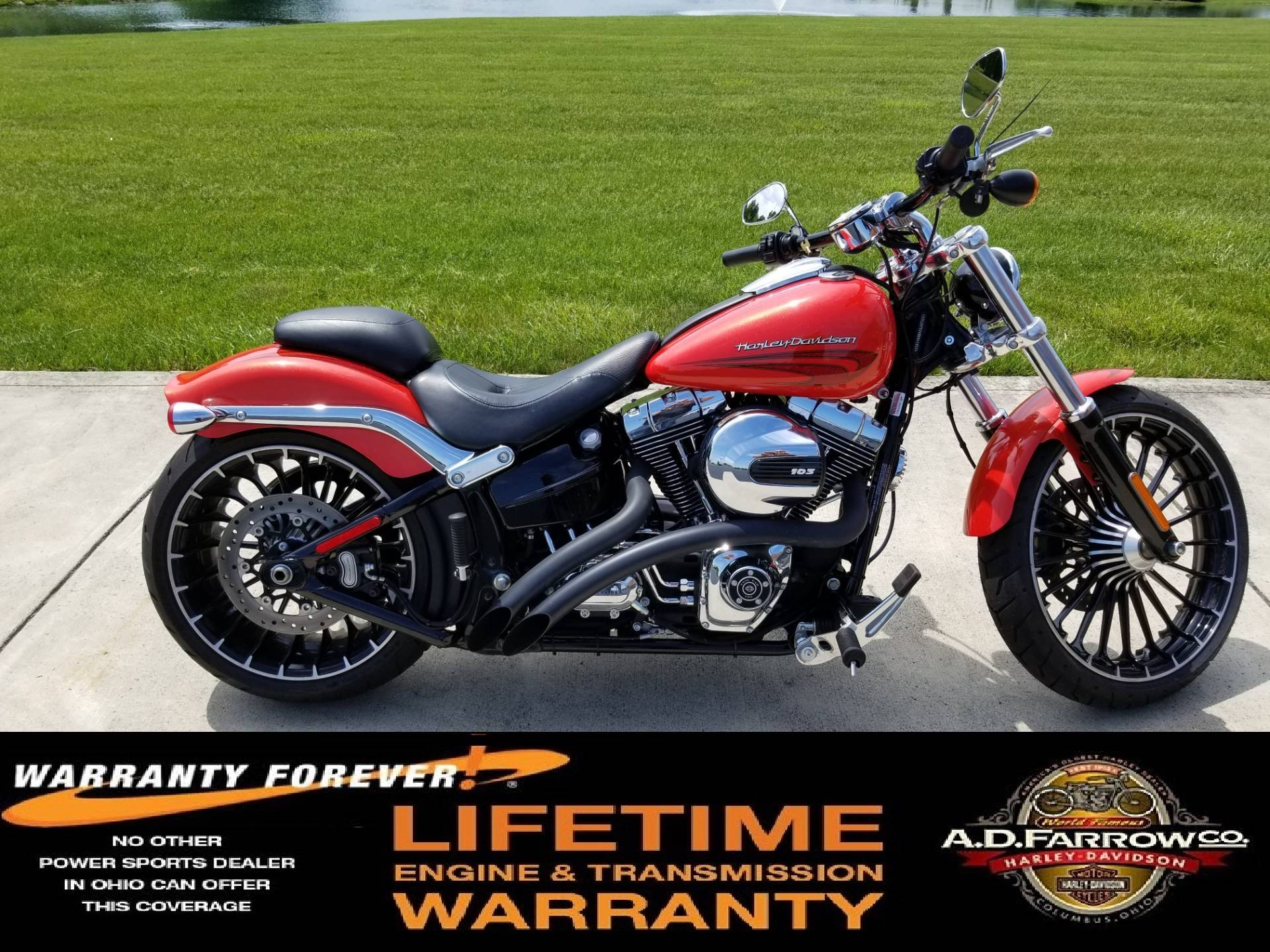 2017 Harley-Davidson Breakout® in Sunbury, Ohio - Photo 1