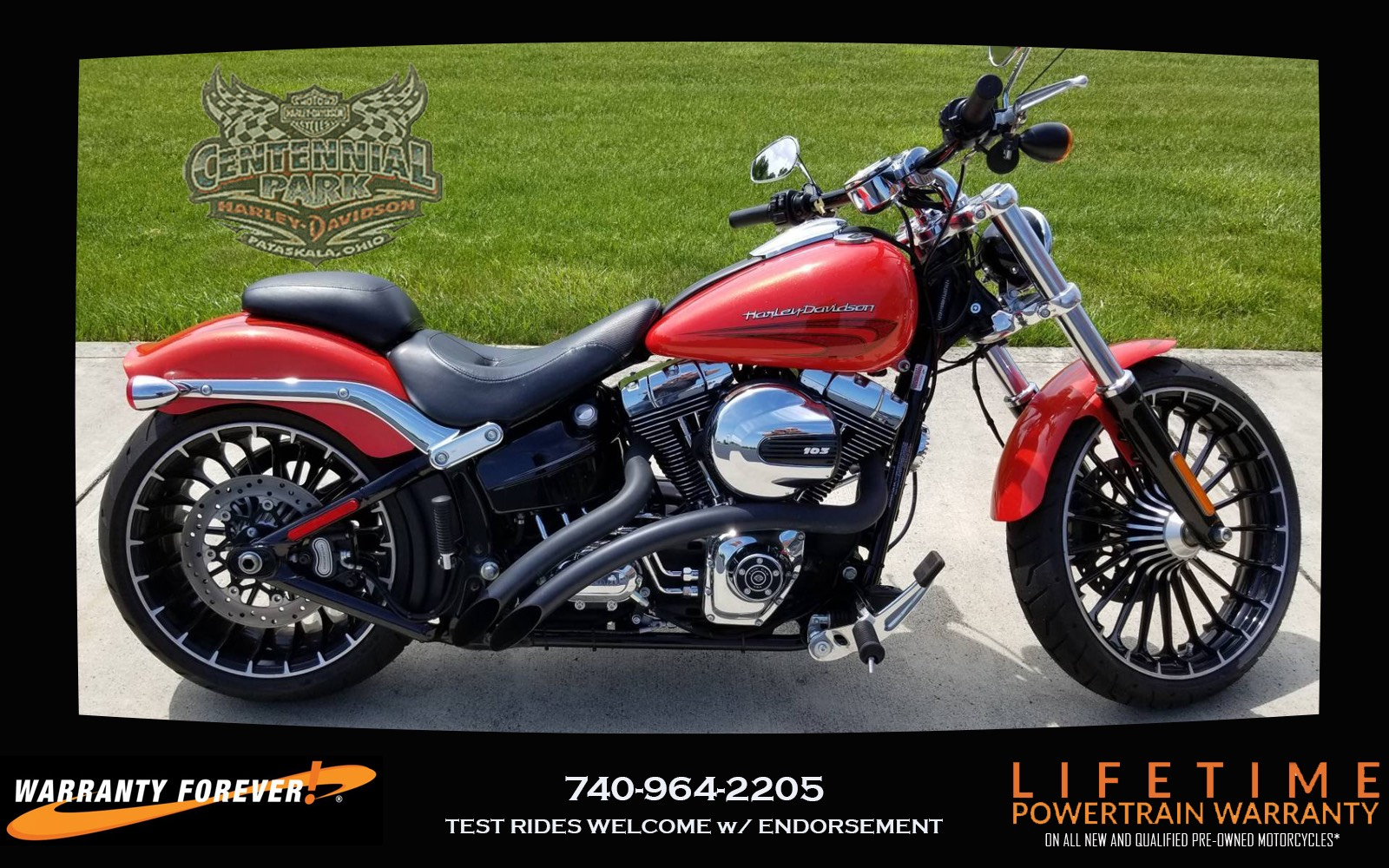 used 2017 harley-davidson breakout® motorcycles in sunbury, oh