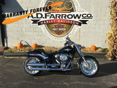 2018 Harley-Davidson Fat Boy®107 in Sunbury, Ohio