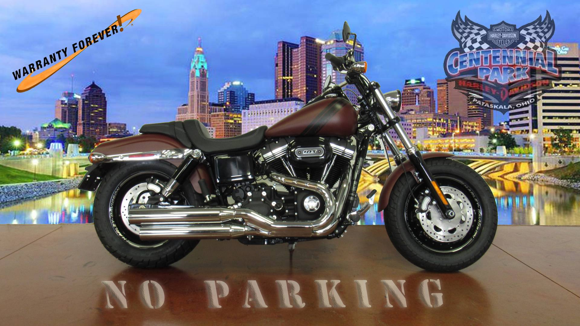 2017 Harley-Davidson Fat Bob in Sunbury, Ohio