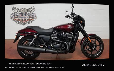 2015 Harley-Davidson Street™ 750 in Sunbury, Ohio - Photo 1