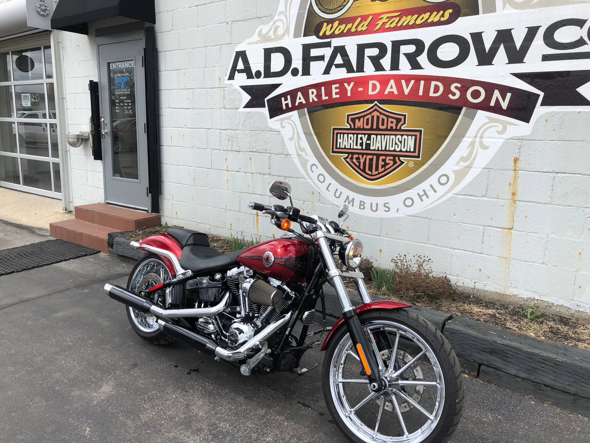 2013 Harley-Davidson Softail® Breakout® in Sunbury, Ohio
