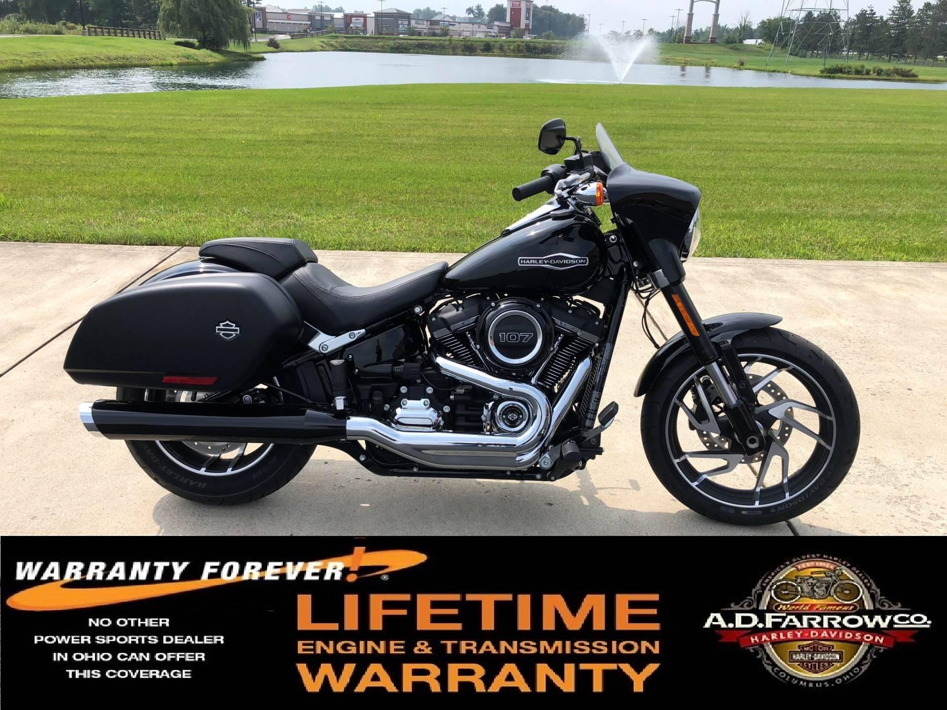 2018 harley davidson sport glide motorcycles sunbury ohio. Black Bedroom Furniture Sets. Home Design Ideas