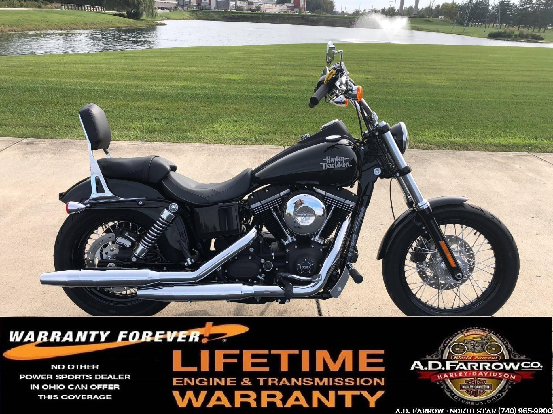2016 Harley Davidson Street Bob In Sunbury Ohio Photo 1