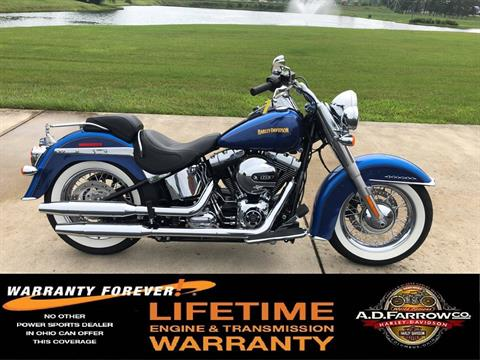 2017 Harley-Davidson Softail® Deluxe in Sunbury, Ohio