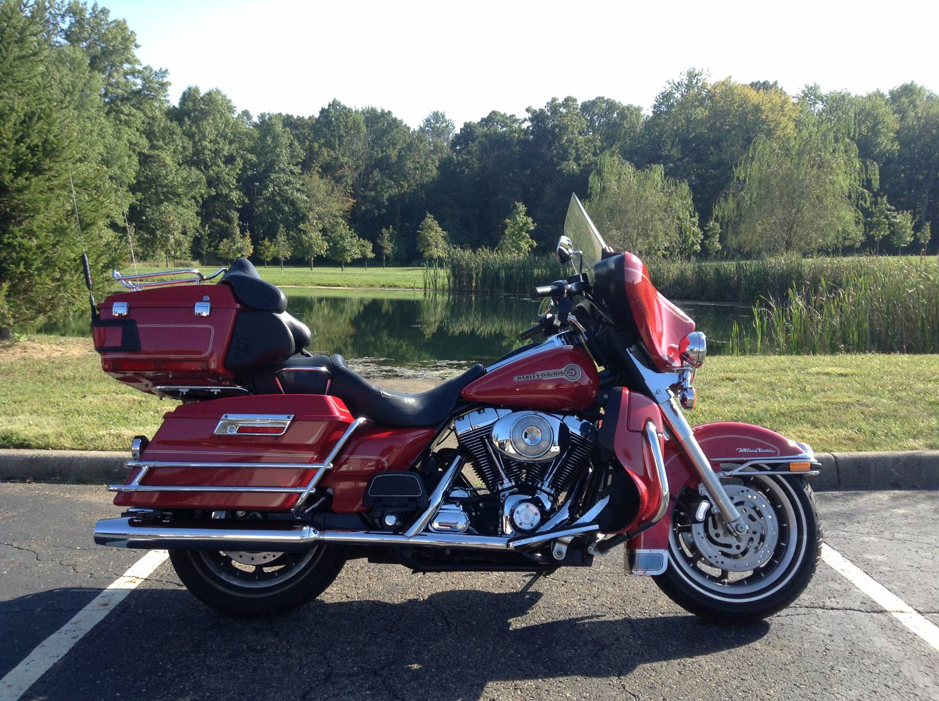 2005 Harley-Davidson FLHTCUI Ultra Classic® Electra Glide® Firefighter Special Edition in Sunbury, Ohio - Photo 1