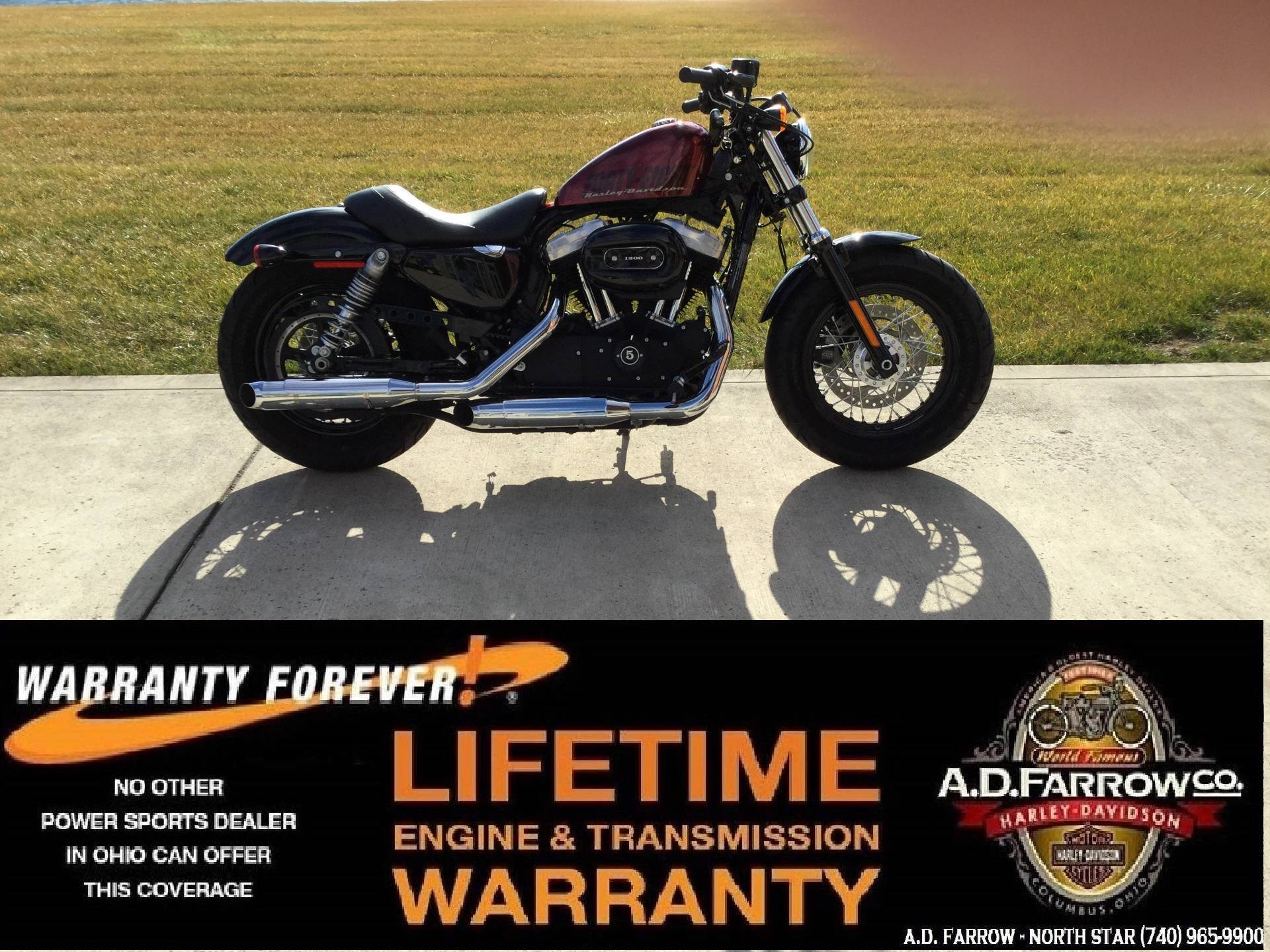 2015 Harley-Davidson Forty-Eight® in Sunbury, Ohio - Photo 1