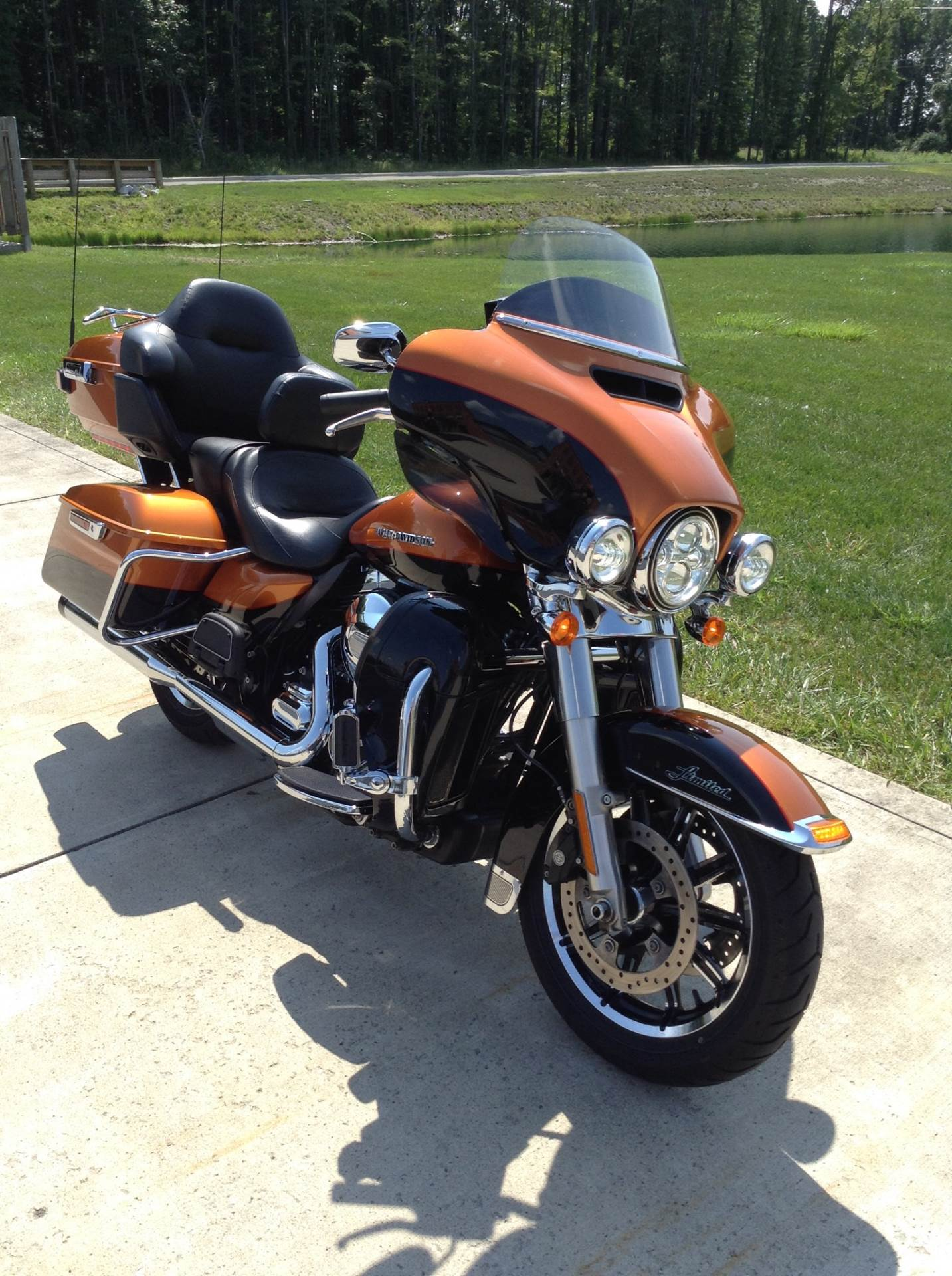 2014 Harley-Davidson Ultra Limited in Sunbury, Ohio
