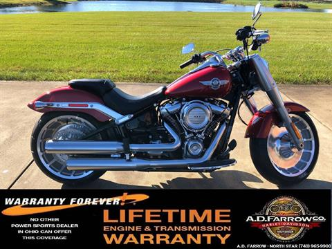 2019 Harley-Davidson Fat Boy® 107 in Sunbury, Ohio