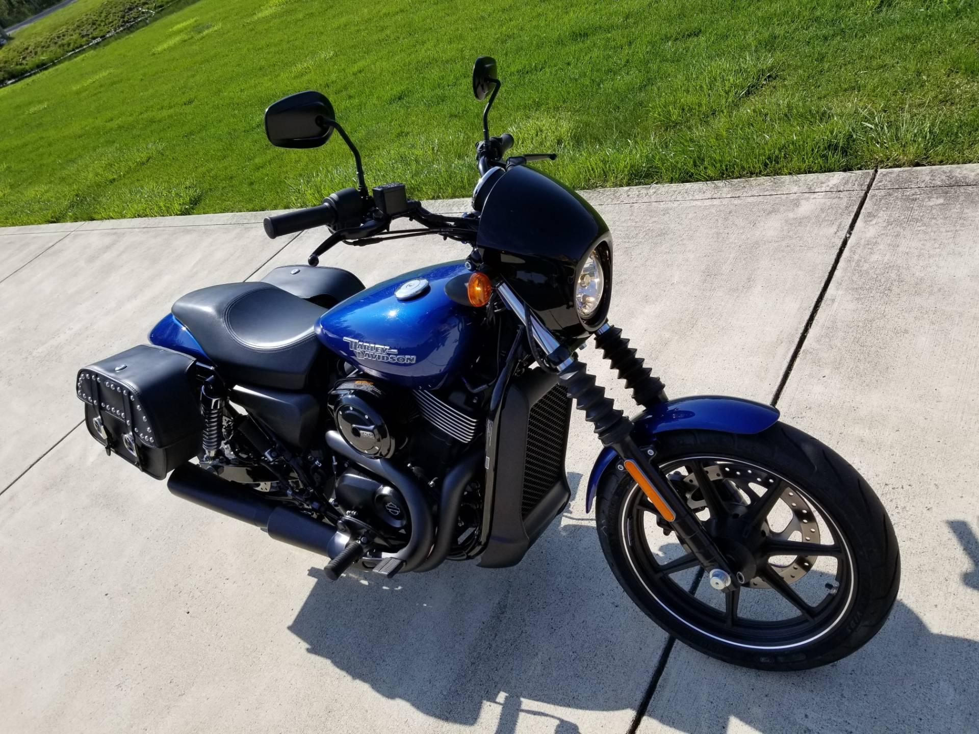 2017 Harley Davidson Street 750 In Sunbury Ohio