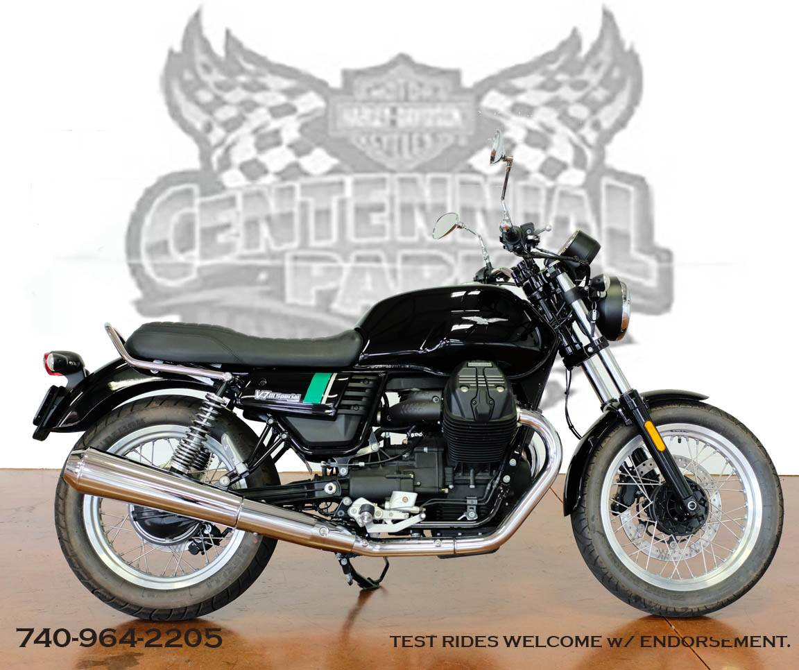 2017 Moto Guzzi V7 Iii Special Abs Motorcycles Sunbury Ohio