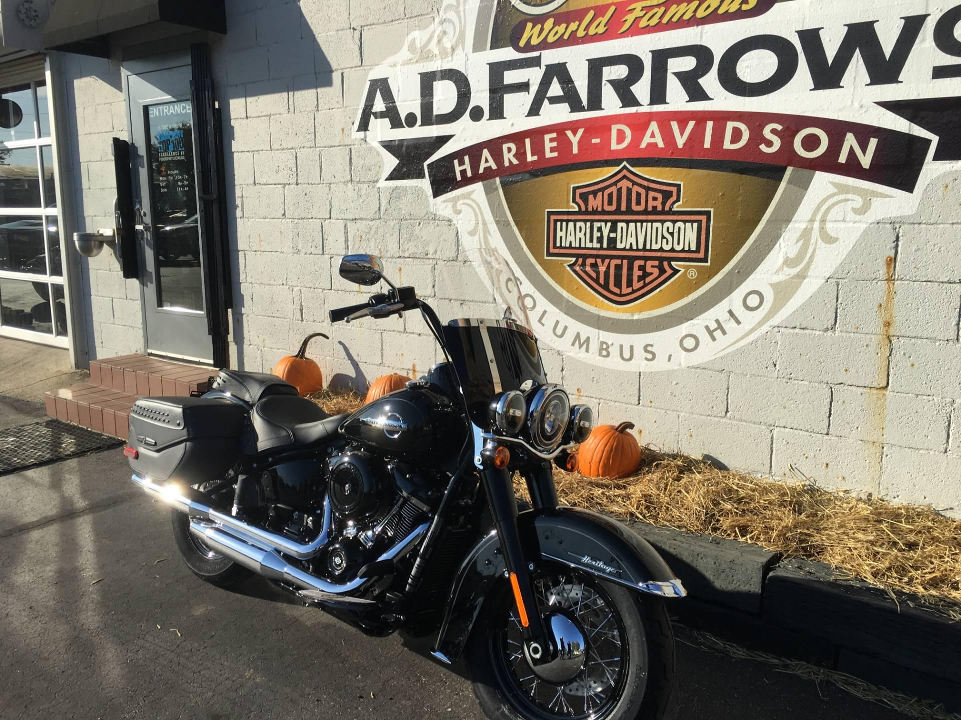 2018 Harley-Davidson Heritage Clic 107 Motorcycles Sunbury Ohio
