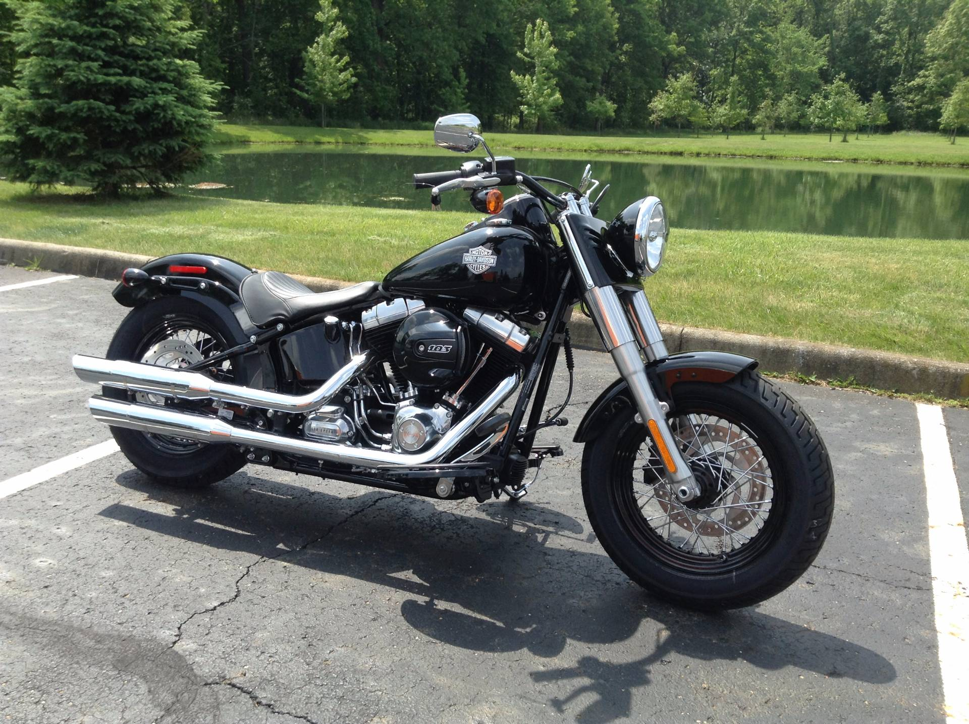2017 Harley-Davidson Softail Slim® in Sunbury, Ohio