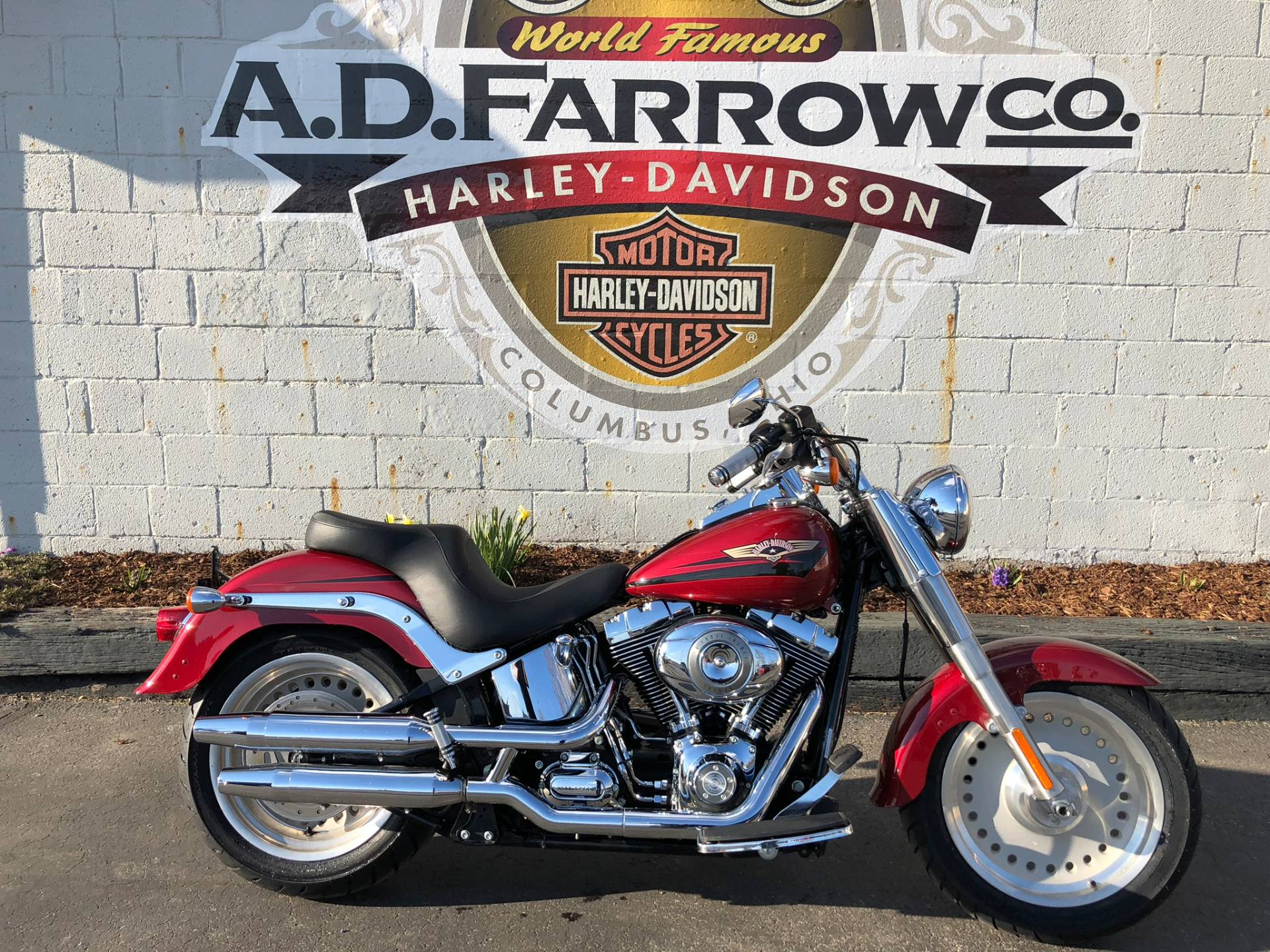2007 Harley-Davidson Fat Boy® Firefighter Special Edition ...