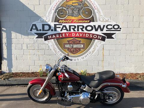 2007 Harley-Davidson Fat Boy® Firefighter Special Edition in Sunbury, Ohio