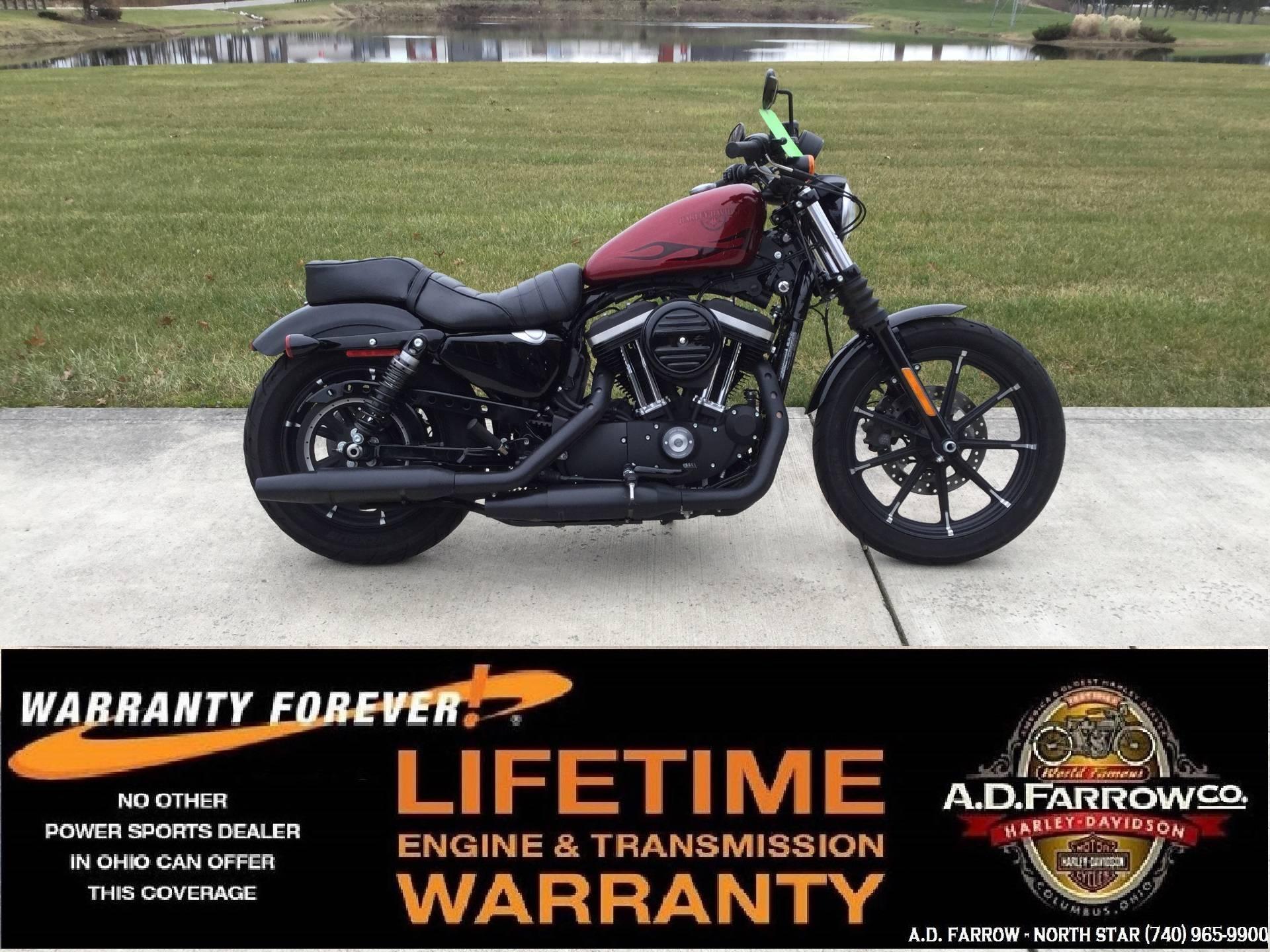 2017 Harley-Davidson Iron 883™ in Sunbury, Ohio