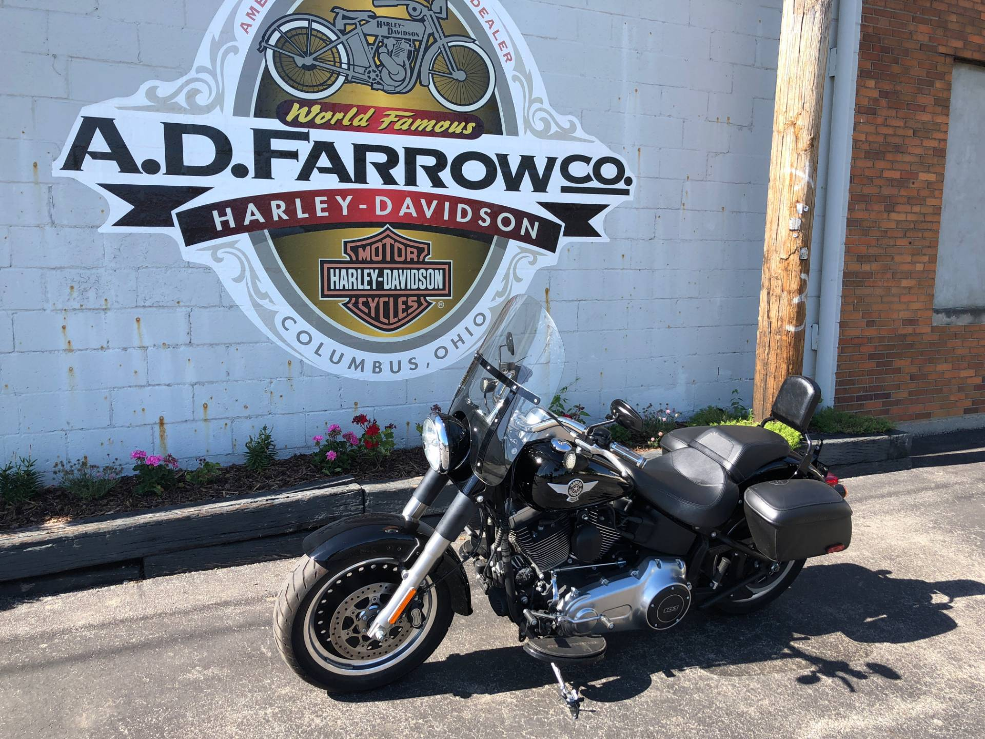 2015 Harley-Davidson Fat Boy® Lo in Sunbury, Ohio