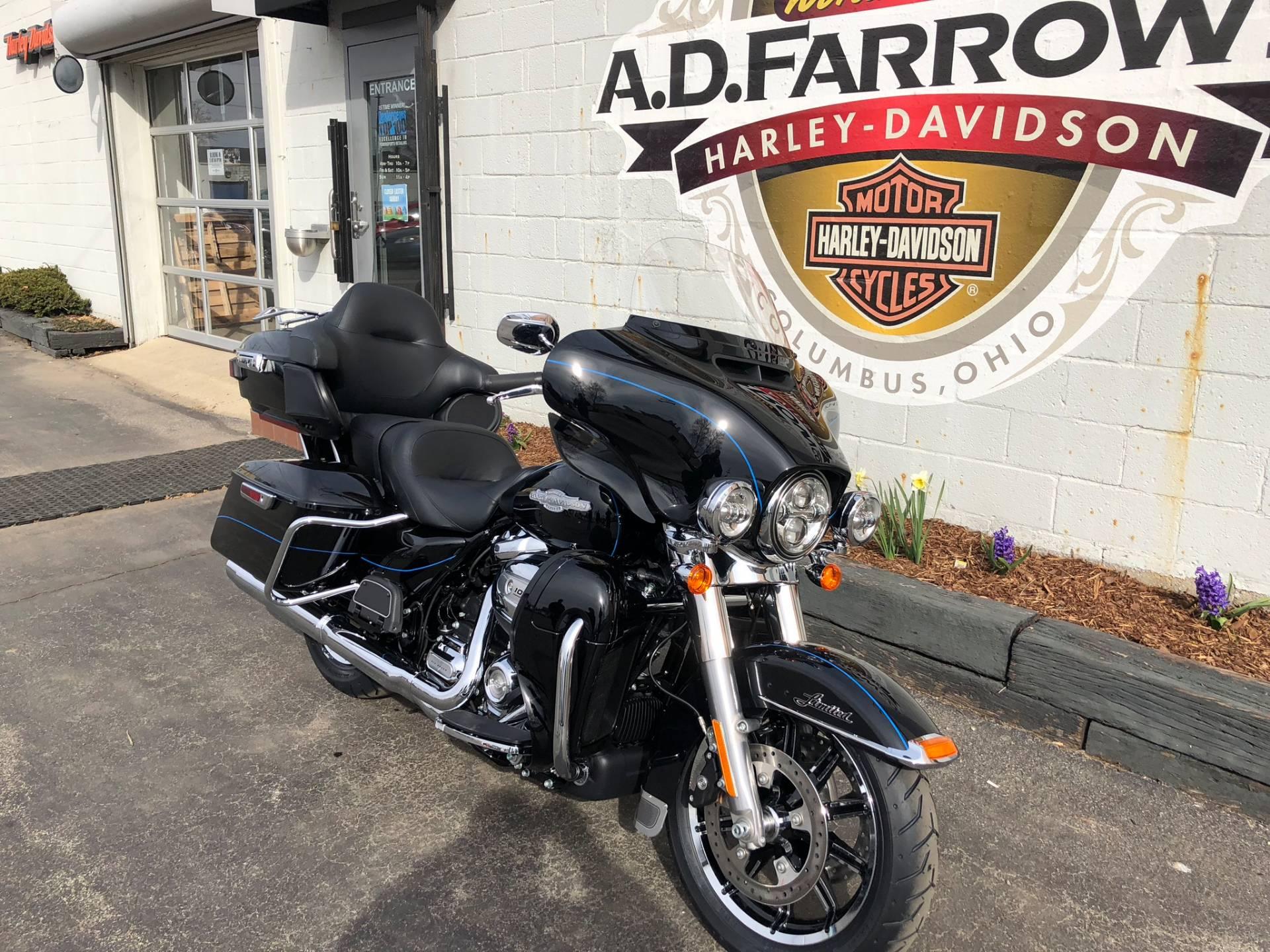2018 Harley Davidson Ultra Limited Motorcycles Sunbury Ohio Engine Coolant In