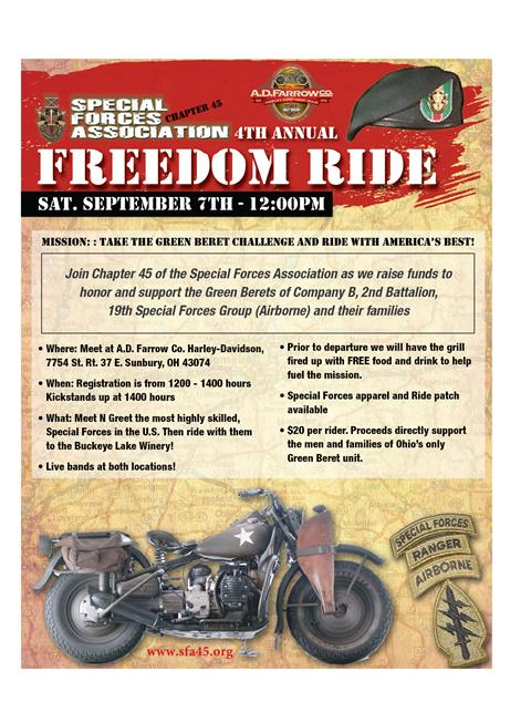 Special Forces Freedom Ride