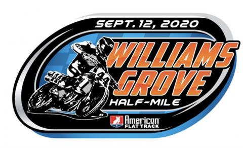 AMA Flat Track Williams Grove Half-Mile