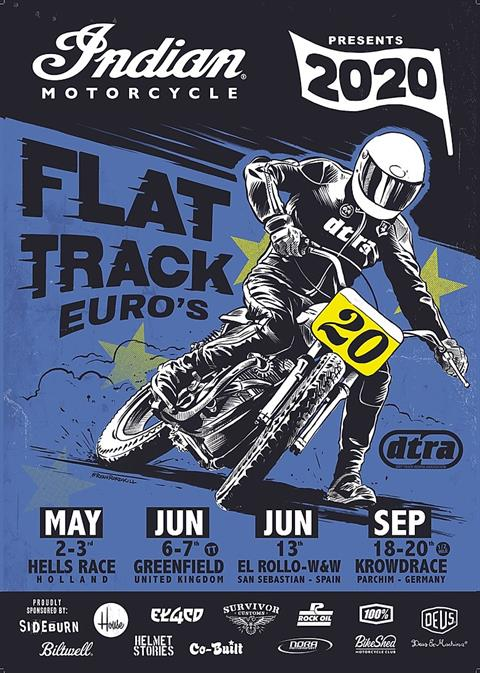 Indian Motorcycle European Flat Track Series - Krowdrace