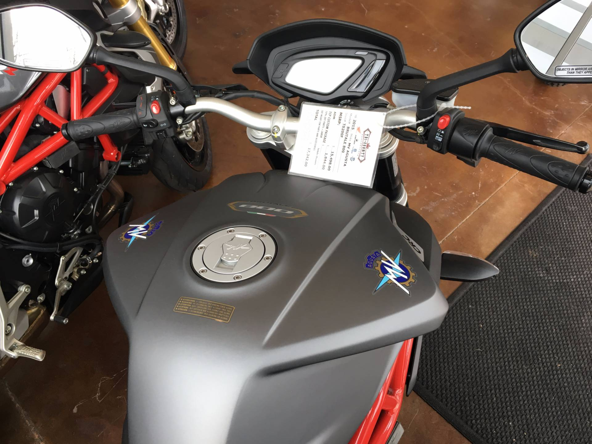 2015 MV Agusta Brutale 800 in Moorpark, California