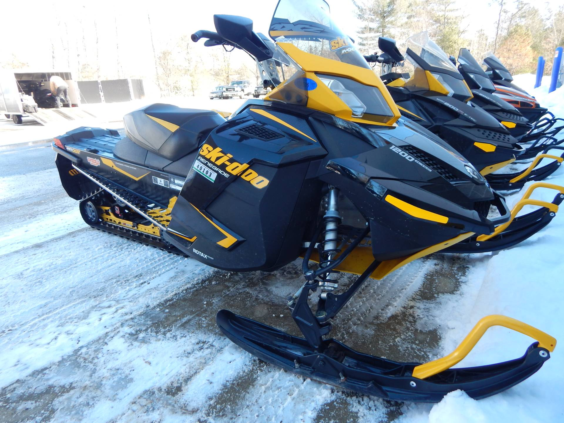 2014 Ski-Doo Renegade® X® 4-TEC® 1200 in Concord, New Hampshire - Photo 1