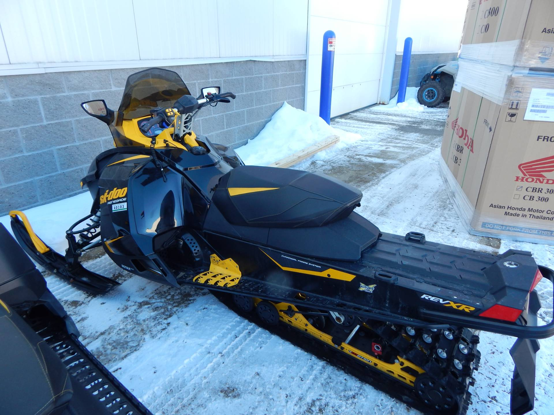 2014 Ski-Doo Renegade® X® 4-TEC® 1200 in Concord, New Hampshire - Photo 5