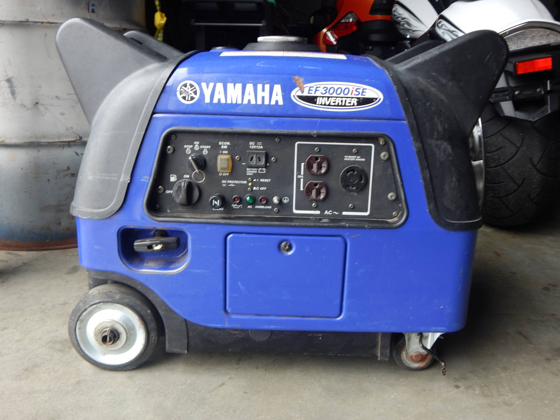 Yamaha EF3000iS Generator in Concord, New Hampshire - Photo 4