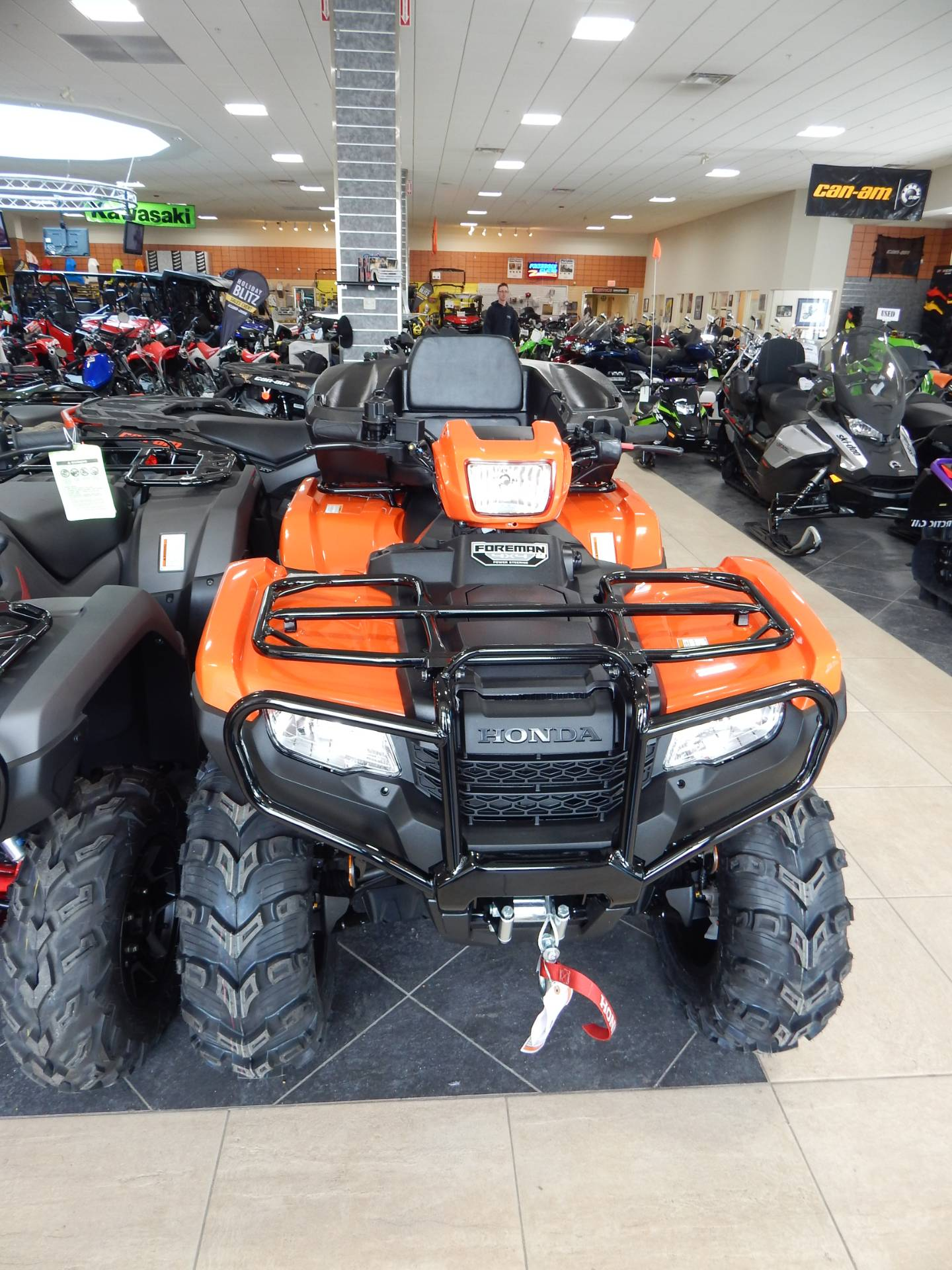 2019 Honda FourTrax Foreman 4x4 ES EPS in Concord, New Hampshire - Photo 2