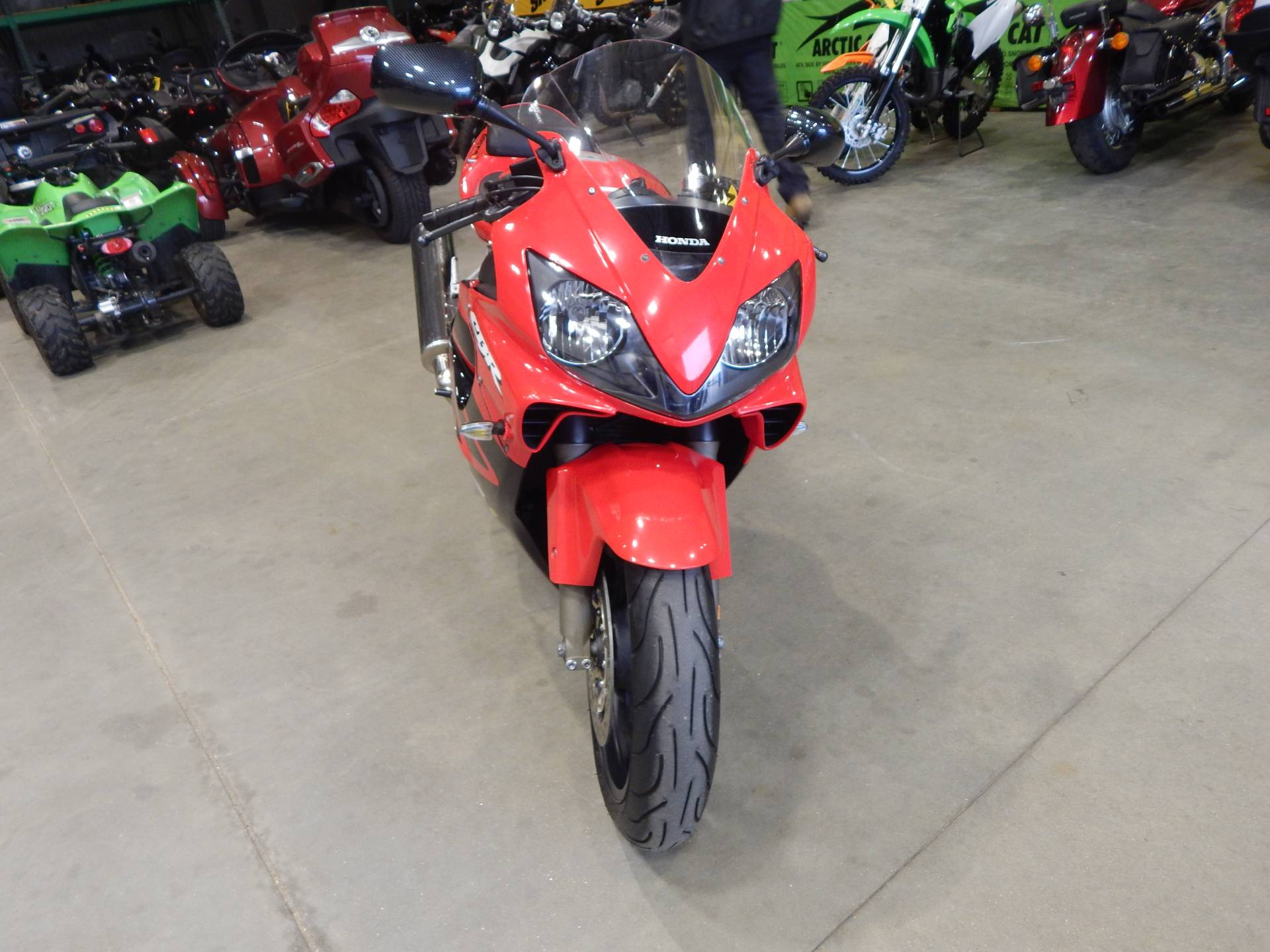 2001 Honda CBR600F4i in Concord, New Hampshire