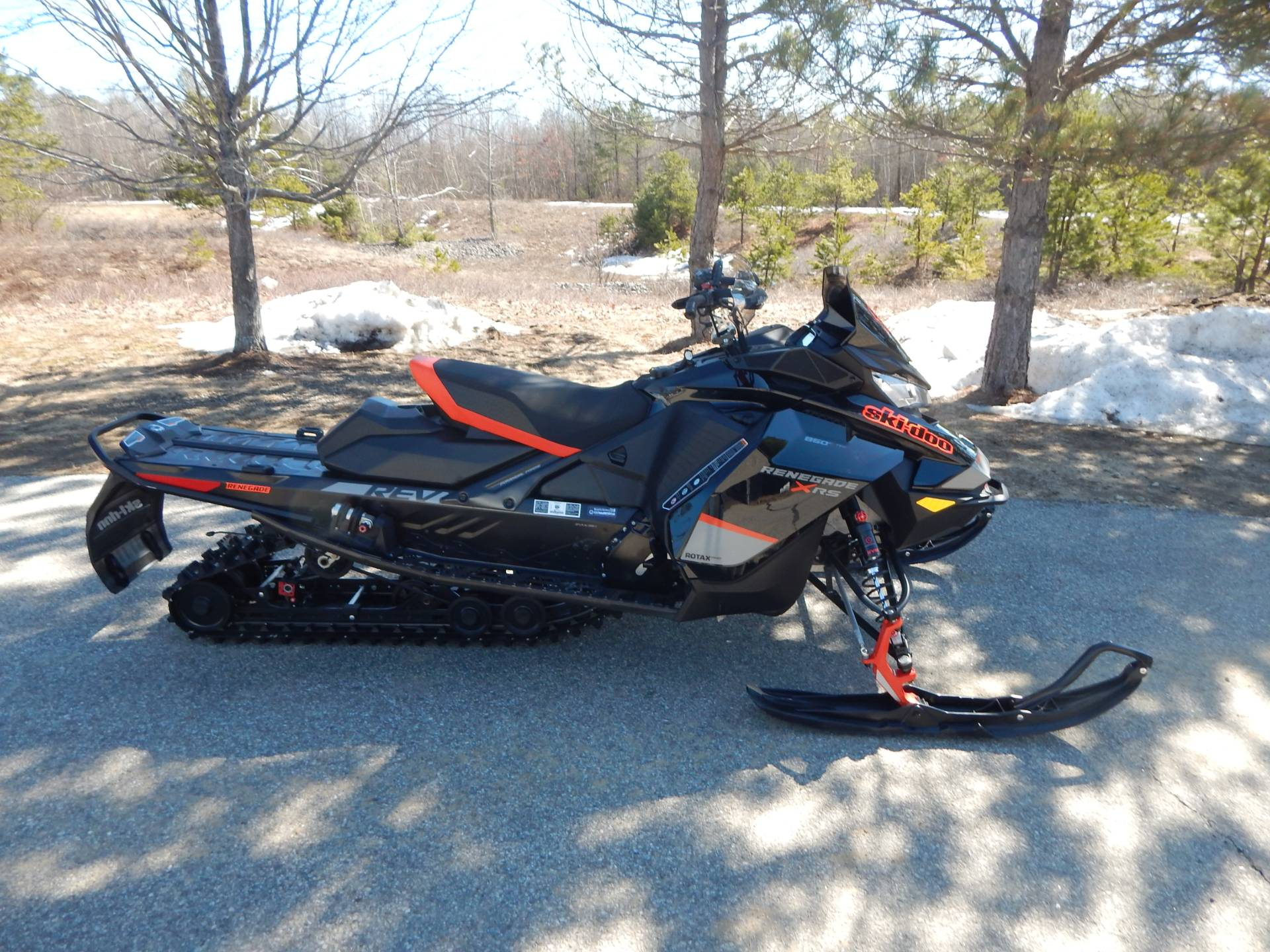 2020 Ski-Doo Renegade X-RS 850 E-Tec in Concord, New Hampshire - Photo 1
