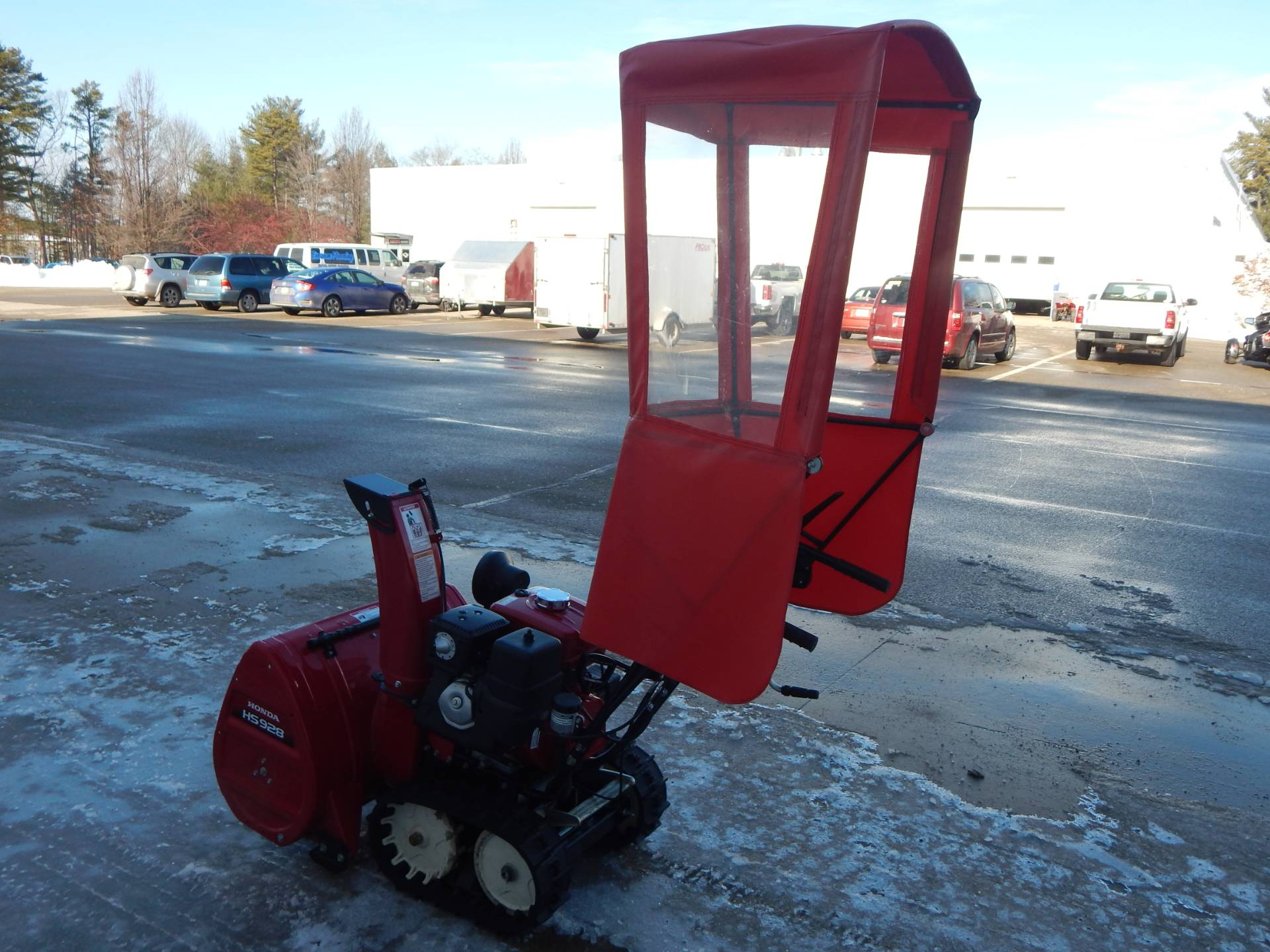 Honda Power Equipment HSS928ATD in Concord, New Hampshire - Photo 8