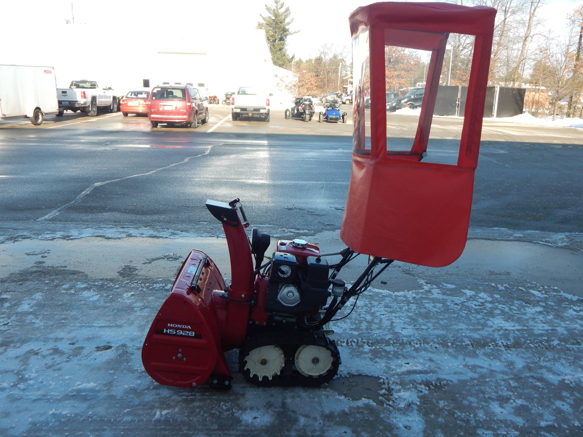 Honda Power Equipment HSS928ATD in Concord, New Hampshire - Photo 11