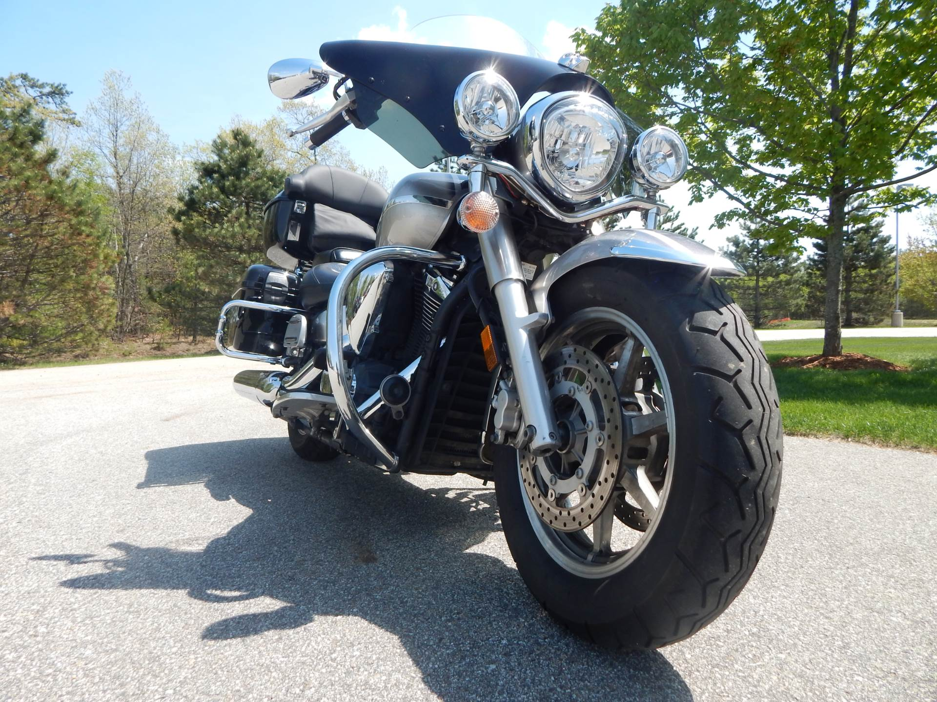 Used 2007 Yamaha V Star U00ae 1300 Tourer Motorcycles In Concord  Nh
