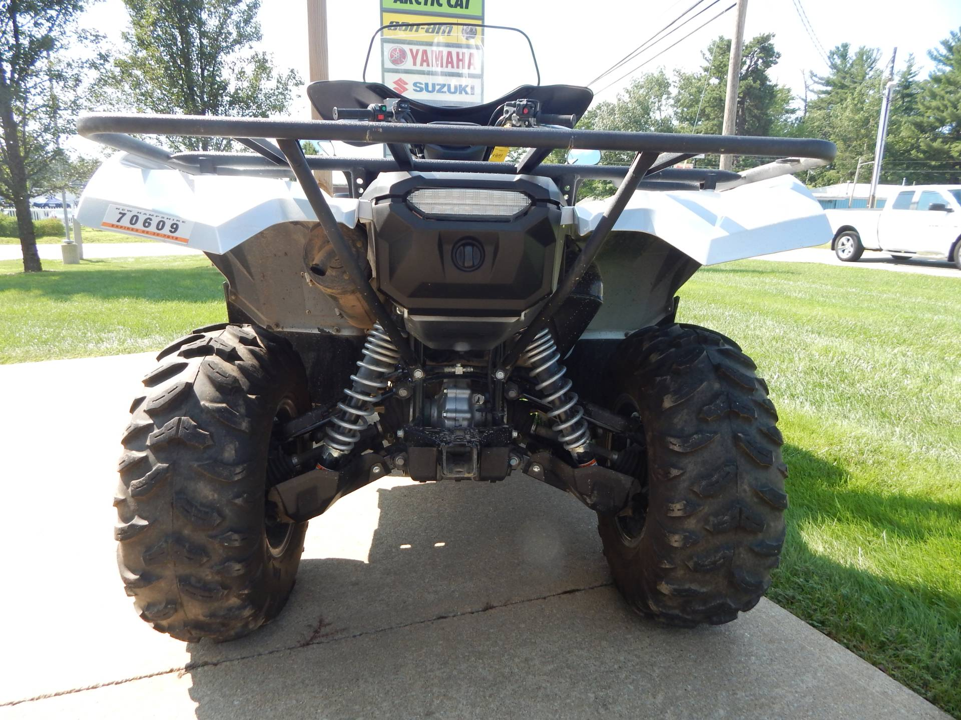 2018 Yamaha Grizzly EPS LE in Concord, New Hampshire