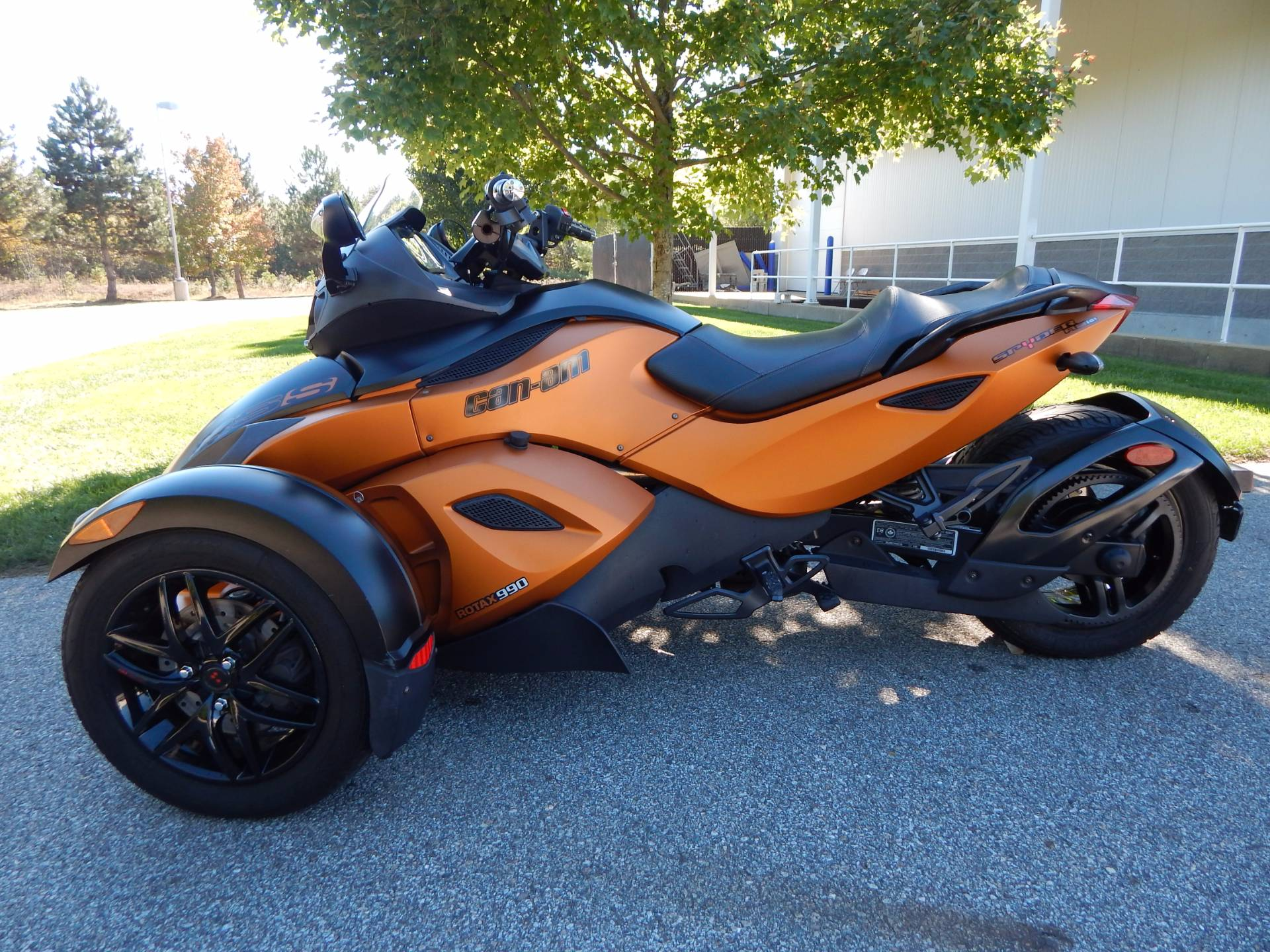 2011 can am spyder rs s se5 for sale concord nh 81004. Black Bedroom Furniture Sets. Home Design Ideas