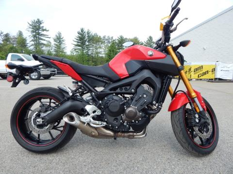 2014 Yamaha FZ-09 in Concord, New Hampshire