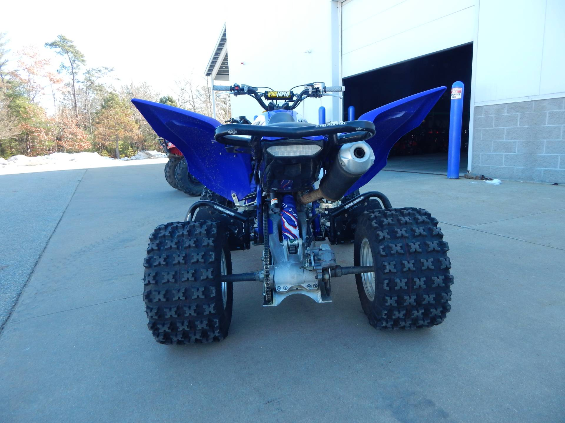 2016 Yamaha Raptor 700R 4