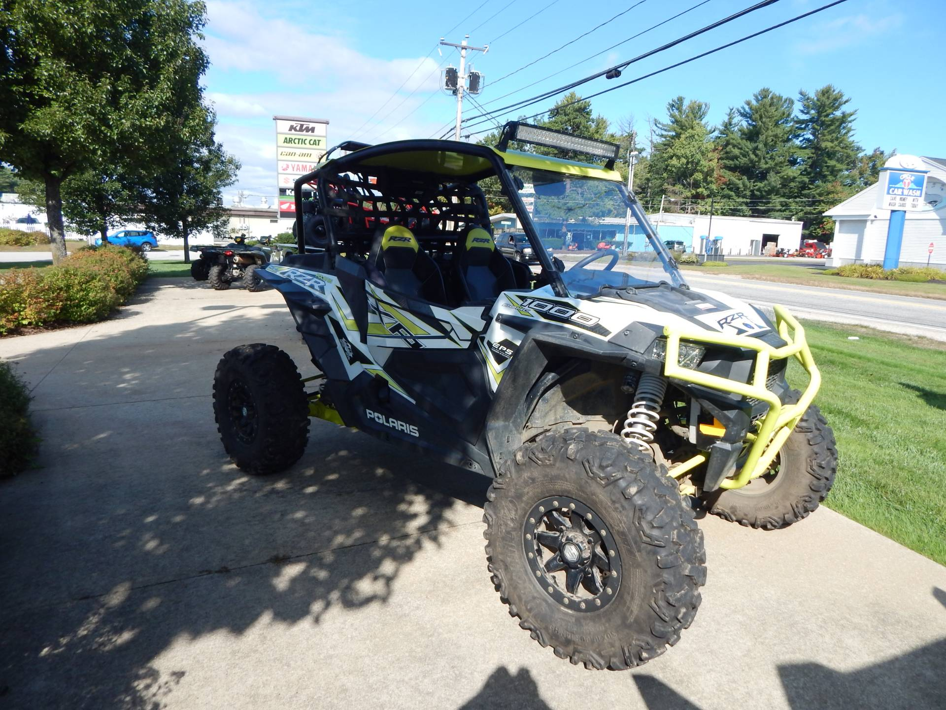 2018 Polaris Razor 1000 XP White Lightning in Concord, New Hampshire - Photo 3