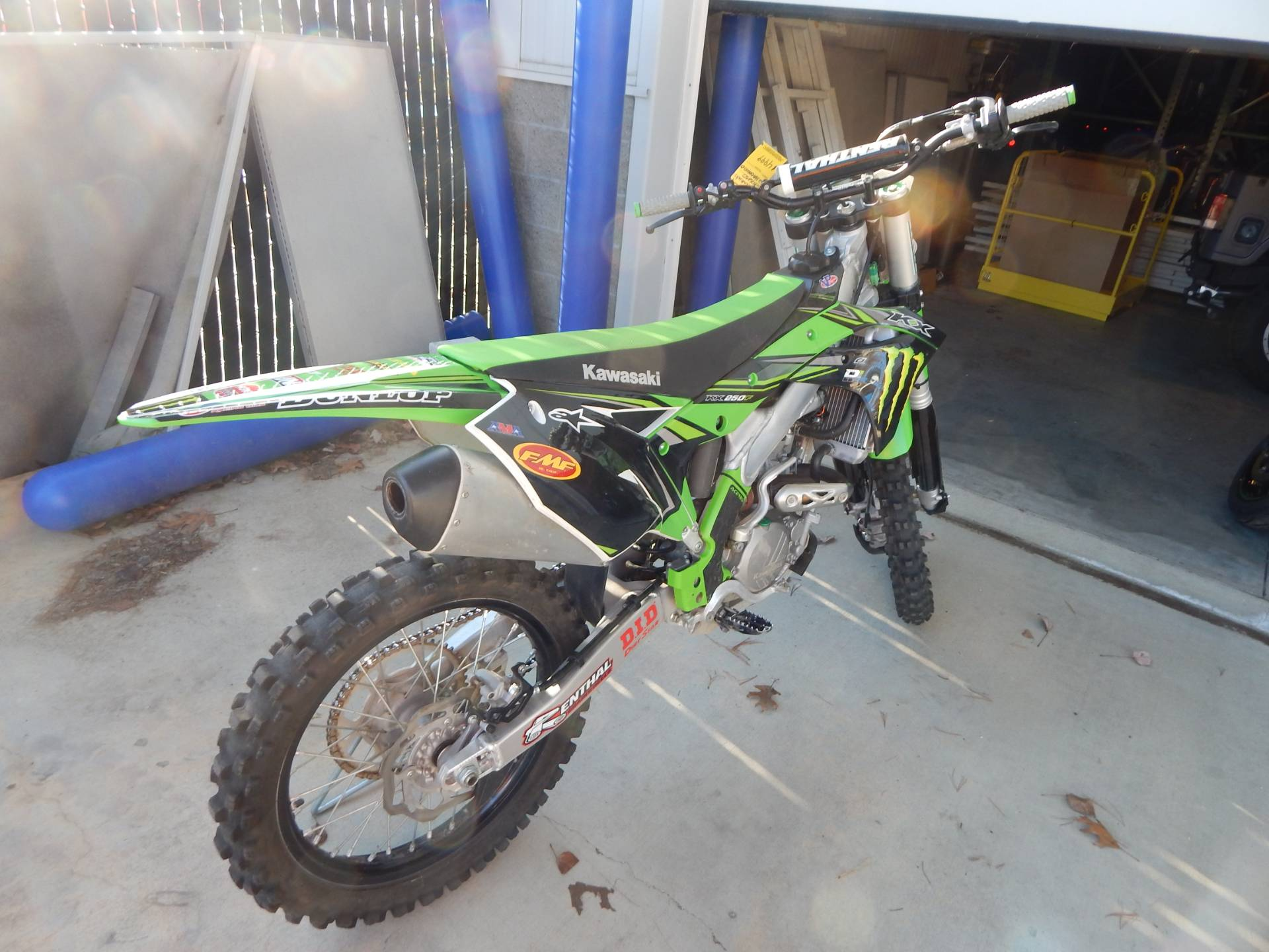 2017 Kawasaki KX250F in Concord, New Hampshire