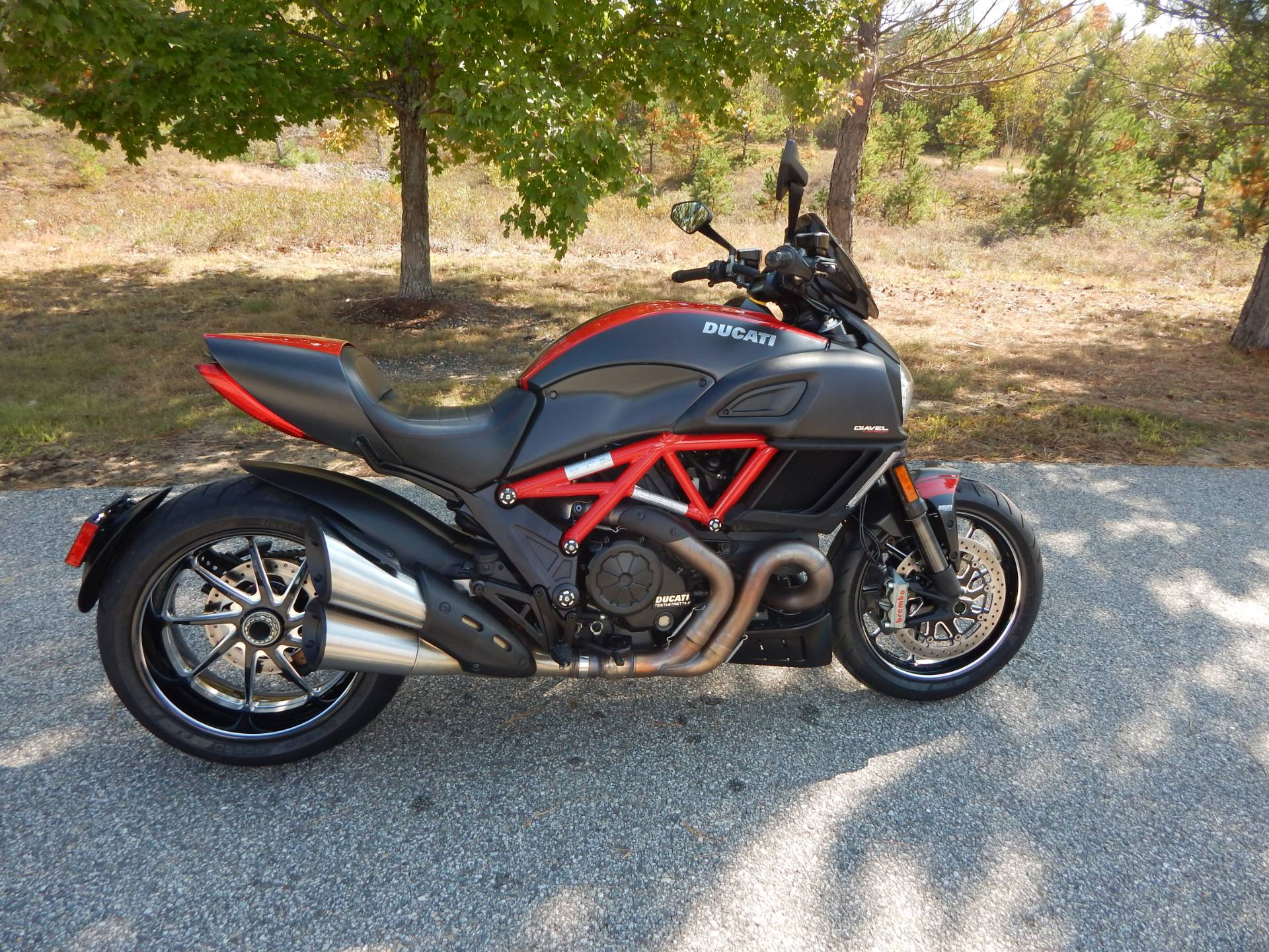 2015 Ducati Diavel Carbon in Concord, New Hampshire - Photo 1
