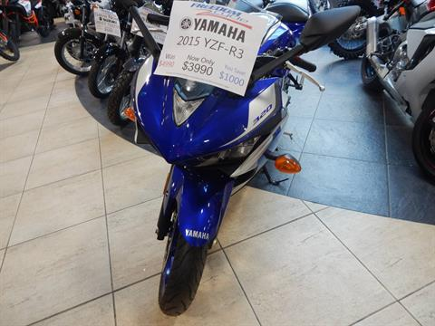 2015 Yamaha YZF-R3 in Concord, New Hampshire