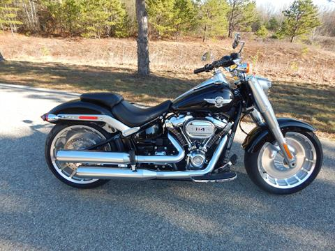 2018 Harley-Davidson Fat Boy® 114 in Concord, New Hampshire